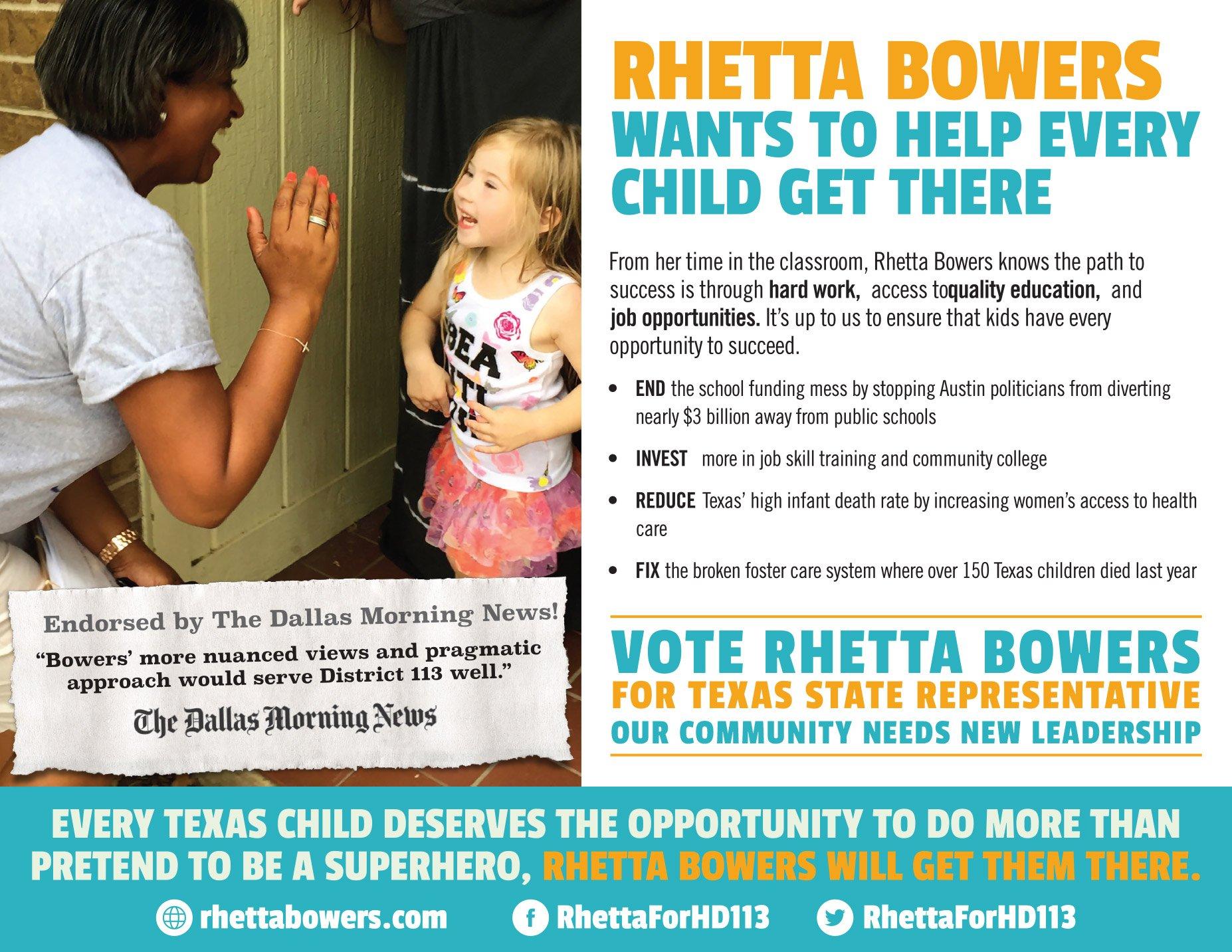 Rhetta Bowers
